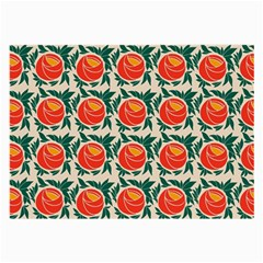 Rose Ornament Large Glasses Cloth