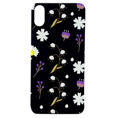 Nonbinary Pride Delicate Mixed Flowers Pattern Apple Iphone Xs Tpu Uv Case