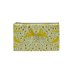 Sunshine Colors On Flowers In Peace Cosmetic Bag (small)