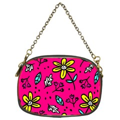 Flowers-flashy Chain Purse (two Sides) by alllovelyideas