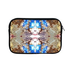 Abstract Acrylic Pouring Art Apple Ipad Mini Zipper Cases