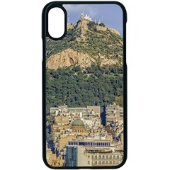 Atenas Aerial View Cityscape Photo Iphone Xs Seamless Case (black)