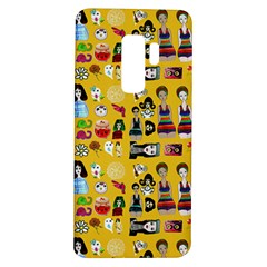 Drawing Collage Yellow Samsung Galaxy S9 Plus Tpu Uv Case