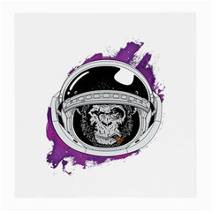 Purple Spacemonkey Medium Glasses Cloth (2 Sides)