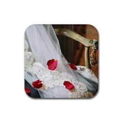 Western Wedding Festival Rubber Coaster (square) by ironman2222