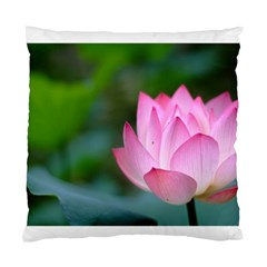 Pink Flower Cushion Case (one Side)