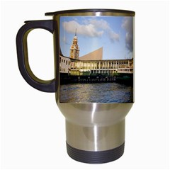 Hong Kong Ferry Travel Mug (white) by swimsuitscccc