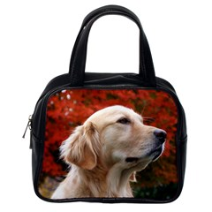 Dog-photo Cute Classic Handbag (one Side) by swimsuitscccc