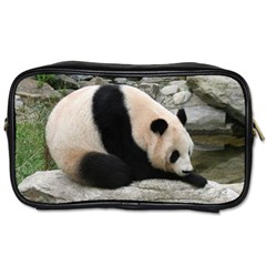Giant Panda Water Toiletries Bag (two Sides)