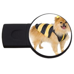 My-dog-photo Usb Flash Drive Round (4 Gb) by ArtsCafecom3