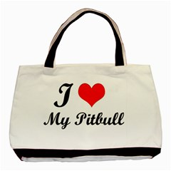 I Love My Beagle Classic Tote Bag by free