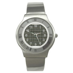 Ck1 Stainless Steel Watch by designergaze