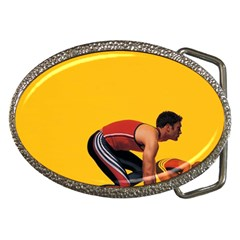 Running Sport Belt Buckle by ArtsCafecom3
