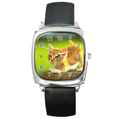 Cat5 Square Metal Watch