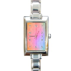Cr6 Rectangular Italian Charm Watch by designergaze
