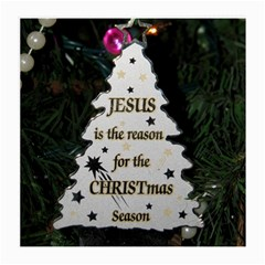 Jesus Is The Reason Twin Sided Large Glasses Cleaning Cloth by tammystotesandtreasures