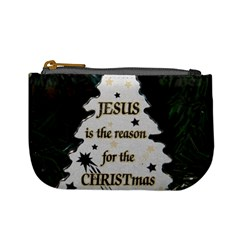 Jesus Is The Reason Coin Change Purse by tammystotesandtreasures