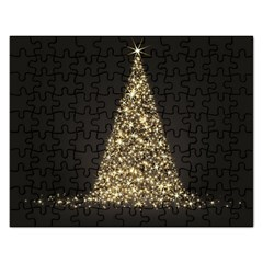 Christmas Tree Sparkle Jpg Jigsaw Puzzle (rectangle) by tammystotesandtreasures