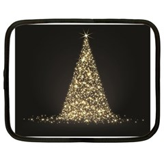 Christmas Tree Sparkle Jpg 15  Netbook Case by tammystotesandtreasures