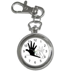 Rabbit Hand Shadow Key Chain & Watch by rabbithandshadow