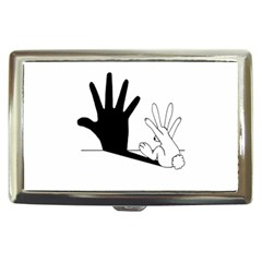 Rabbit Hand Shadow Cigarette Box by rabbithandshadow