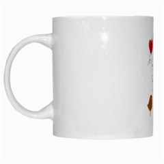 Love Birds White Coffee Mug by LoveBirds