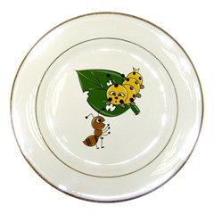 Animal World Porcelain Display Plate by AnimalWorld