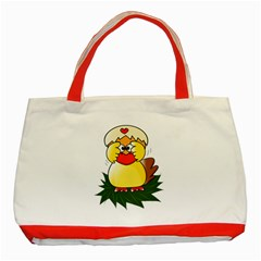 Coming Bird Red Tote Bag by ComingBird