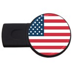 Flag 2Gb USB Flash Drive (Round) Front