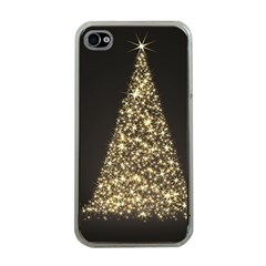 Christmas Tree Sparkle Jpg Apple Iphone 4 Case (clear) by tammystotesandtreasures