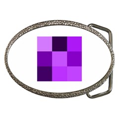 Purple Shades Belt Buckle (oval) by PurpleVIP