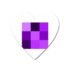 Purple Shades Large Sticker Magnet (heart) by PurpleVIP