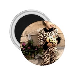 Trick Or Treat Baby Regular Magnet (round) by tammystotesandtreasures
