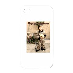 Trick Or Treat Baby White Apple Iphone 4 Case