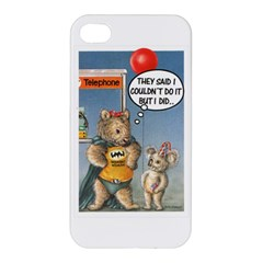 Wombat Woman Apple Iphone 4/4s Hardshell Case by Koalasandkangasplus