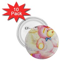 Koala And Bear  10 Pack Small Button (round)