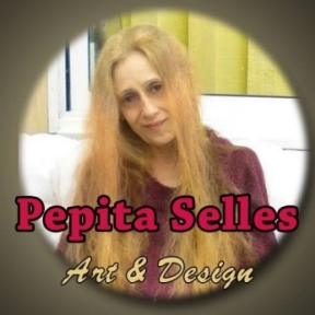Pepita Selles Art and Design logo