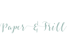 Paper and Frill logo